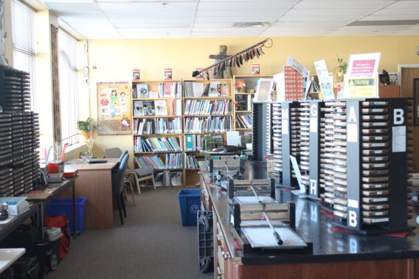 Resource Library Aisle