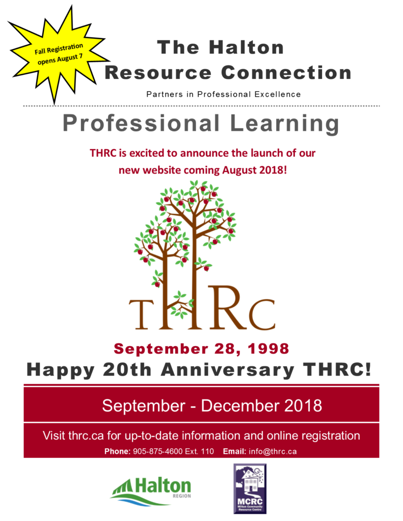 THRC Launch a new website on August 2018 on the 20th Anniversary