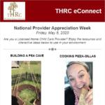 THRC National Provider week Flyer