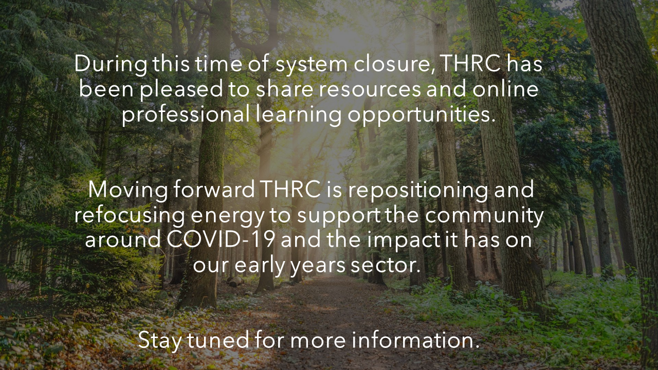 THRC Annoucement