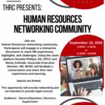 HR Network Event Flyer