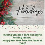 THRC Holiday Flyer