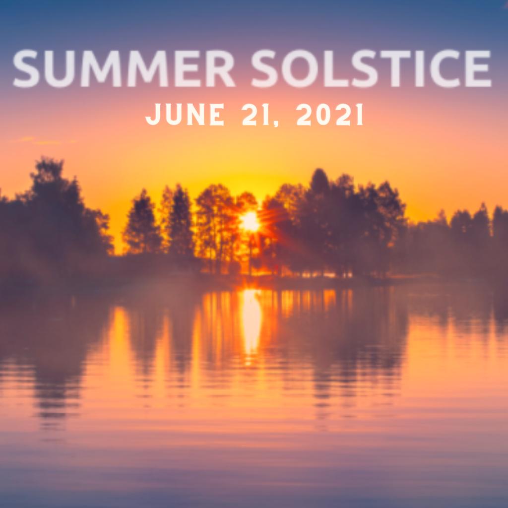Summer Solstice Banner - June 21, 2021