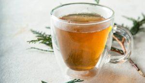 Cedar Tea in a Cup